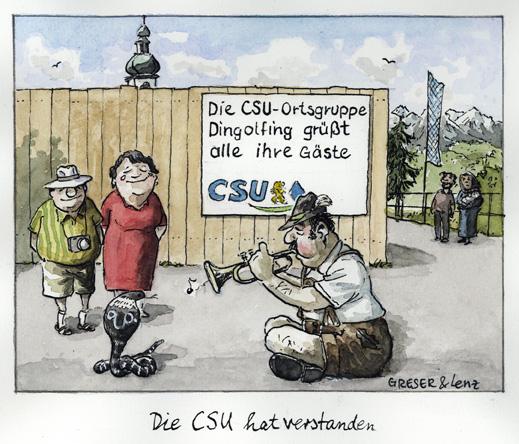 CSU hat verstanden