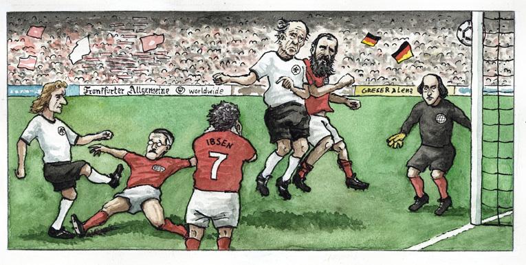 Literaten-Fußballspiel