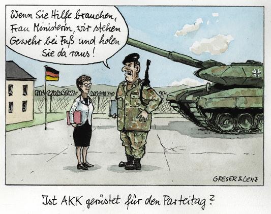 AKK, Bundeswehr, Parteitag