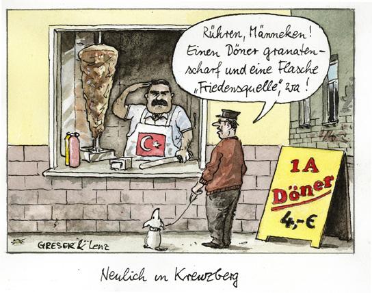 Salutierender Türke