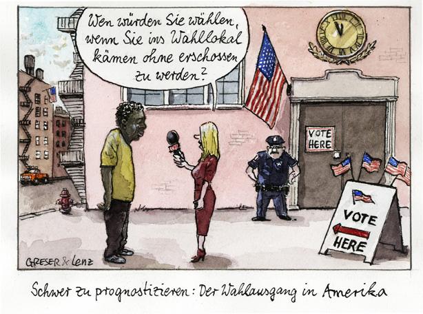 Wahlausgang USA